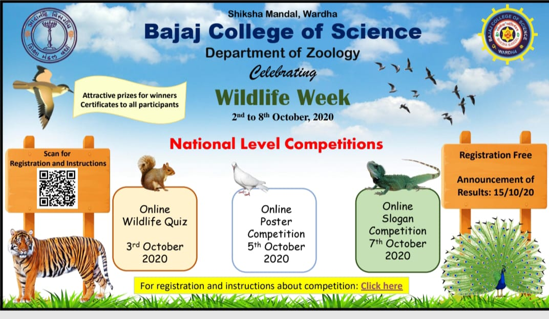 National Wild Life Quiz Oct. 2020